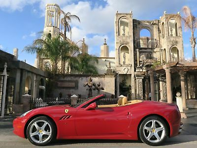 2010 Ferrari California LOW MILES, AFS SYSTEM, MAGNERIDE, DAYTONA SEATS WE FINANCE/LEASE,TRADES WELCOME,EXTENDED WARRANTIES AVAILABLE,CALL 713-789-0000