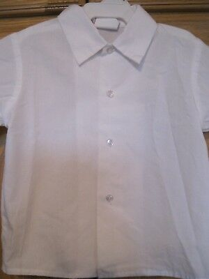 Happy Fella White Jon Jon Shirt Peter Pan Collar  2 3 4