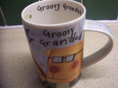 Groovy Grandad A Design By Katie Brettell Dunoon Stoneware Made In Scotland Mug
