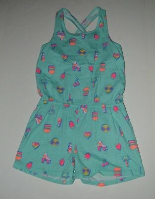 The Childrens Place Girls 2 Piece Emoji One Piece Romper Outfit 10-12
