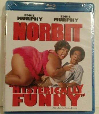 Norbit (Blu-ray Disc, 2013) Eddie Murphy - BRAND NEW, SEALED - UPC CUT