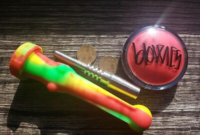 Rasta  / Silicone Straw Set / 14mm Silicone Nectar Collector Kit*