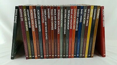 Time life home repair and improvement 25 book set fix do it lot of 26 time life home repair and improvement series books solutioingenieria Image collections