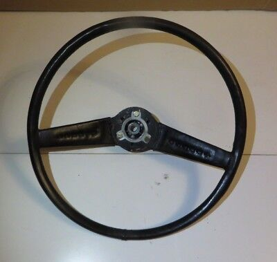 Rover P6 2200 3500 3500S Leather Steering Wheel ~1