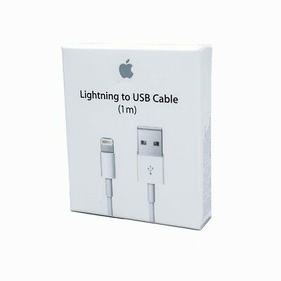 Apple iPhone 5 5S 6 6S 6S Plus Lightning to USB Charger Cable 1m 3ft MD818ZM/A