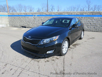 2014 Kia Optima 4dr Sedan EX 4dr Sedan EX Automatic Gasoline 2.4L 4 Cyl BLACK