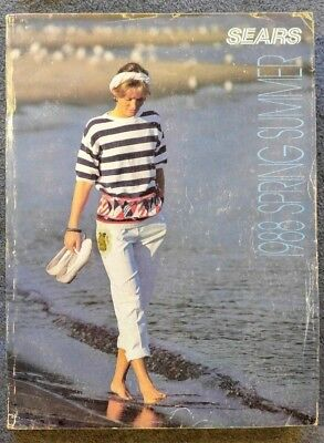 Vintage Sears catalog Spring Summer 1988