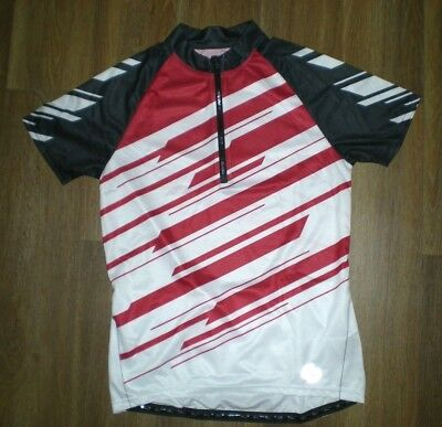 CRIVIT SPORTS Red Black Bike Racing Biking CYCLING JERSEY Shirt Size Adult  LARGE a1a377fc9