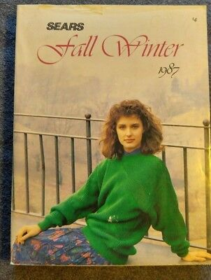 Vintage Sears catalog Fall Winter 1987