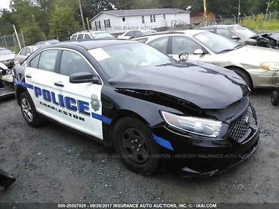 2015 Ford Taurus Police Interceptor FWD Sedan Powerful 3.5 Only 12k Damaged Repairable EZ Fix Low Miles Low Price Thousands Below Street Value