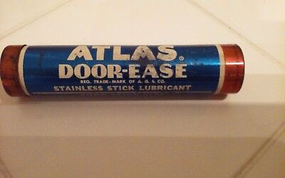 Atlas Door Ease Stick Lubricant SOHIO Standard Oil Vintage Gas Station GAS OIL