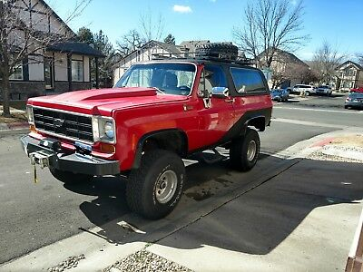 1974 Chevrolet Blazer  V-8 K5 Blazer built to get you anywhere and beyond, only 80000 miles