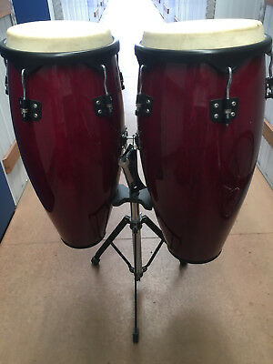 Congas - for begginer (with stand and soft cases)