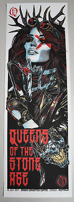QUEENS OF THE STONE AGE DARWIN 2017 POSTER not cd vinyl shirt mad max fury road