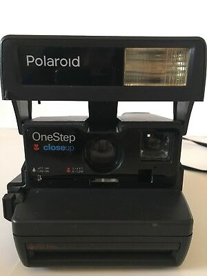Polaroid One Step Close Up 600 Instant Film Camera With Strap