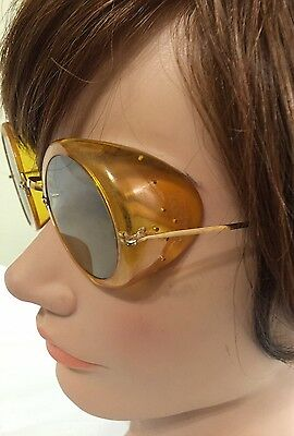 Sunglasses Motorcycle Goggles Glasses Steampunk 70s Wire Frames