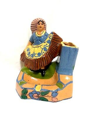 Vintage, 1940s, tlaquepaque pottery, Signed by Metiro