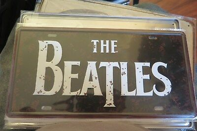 The Beatles Novelty Number Plate 30 Cm By 15 Cm
