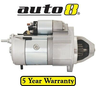 Brand New Starter Motor fits Vermeer Chippers with 3.9L 4.0L Cat Diesel Engines