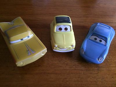 Disney Pixar Cars McDonalds Happy Meal Collector Toys Sally Luigi Ramone