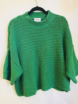 Obus Nella Sweater in Greenery size 3