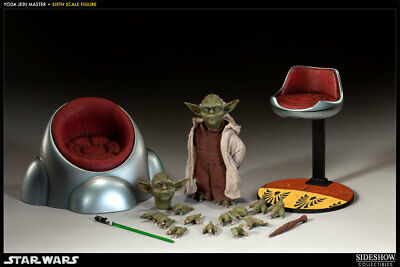 Sideshow Collectibles Star Wars YODA Jedi Master Action Figure 1/6th