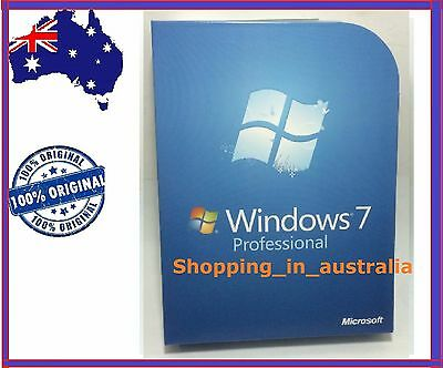 Microsoft Windows 7 Professional 32 and 64 bit  Full Version DVDS