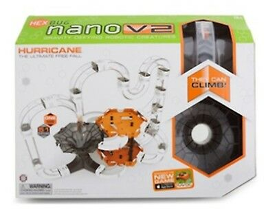 HEXBUG Nano V2 Hurricane Set GRAVITY DEFYING Robotic Creature BRAND NEW IN BOX