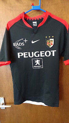 Stade Toulousain Adidas Rugby Shirt Size 183Cm - Rspca Charity