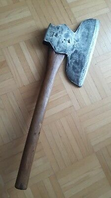 seltenes altes Breitbeil - broad axe - hatchet - M. Beatty - USA