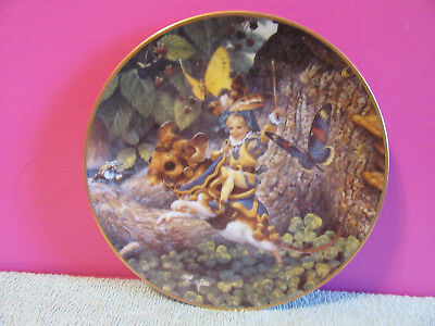 Tom Thumb Classic Fairy Tales collector Plate 1992 Knowles Bradex