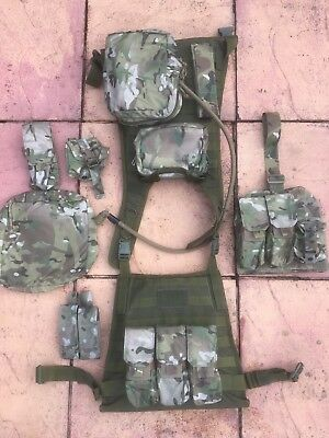 Blackhawk MBSS Helivest plate carrier vest kevlar soft armour with dummy plates