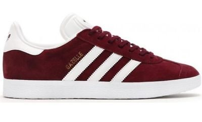 Original Genuinly Bb5255 Gazelle Burgundy Men's Outdoor Adidas tQsdrCh