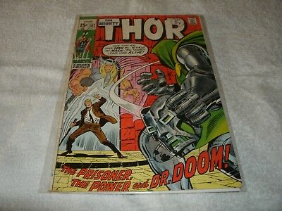 marvel silverage comics  the mighty thor no.182.  scarce