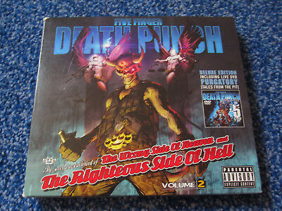 Five Finger Death Punch - Wrong Side of Heaven Vol. 2 Deluxe Edition CD + DVD