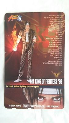 The King of Fighters '96 Japanese Phone card Super Rare SNK japan game m9