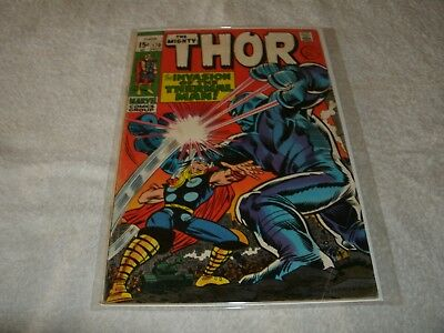 marvel silverage comic  the mighty thor no.170.  scarce in this high grade