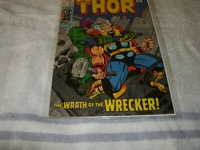 marvel silverage comic  the mighty thor no.171. scarce in this high grade