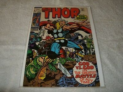 marvel silverage comic  the mighty thor no.177. scarce in this high grade
