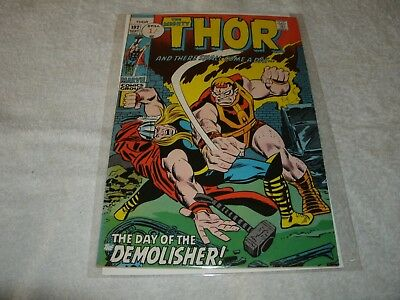 marvel silverage comic  the mighty thor no.192. scarce in this high grade