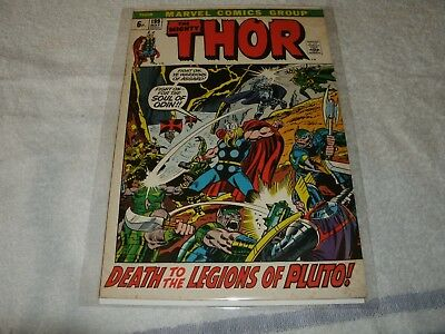 marvel silverage comic  the mighty thor no.199. scarce in this high grade