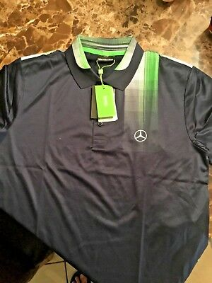 96f89c7a Hugo BOSS Green 2017 Collection Mercedes-Benz L Size Polo T-Shirt Men