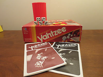 1991 Classic Yahtzee Board & Dice Game Vintage GREAT condition