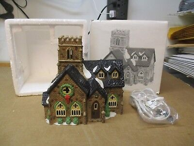 Department 56 Dickens' Village Series Knottinghill Church 5582-4 Fast/free Ship