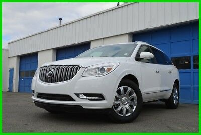 2017 Buick Enclave Premium Leather Heated & Cooled Seats Navigation Blind Spot Mntr Rear View Cam BOSE Save