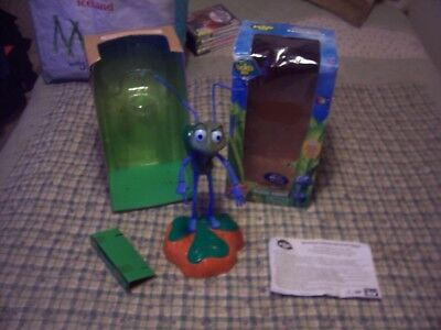 Disney A Bugs Life Electronic Talking Flik Room Guard Boxed Rare