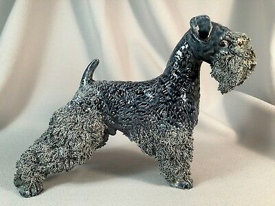 **scarce**jane Callender (California) Large Kerry Blue Terrier Dog, Outstanding!