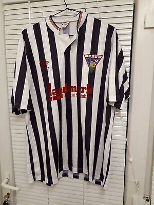 Dunfermline Athletic 1988 - 1990 Home Shirt Large 42""