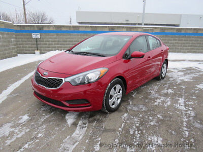 2016 Kia Forte 4dr Sedan Manual LX 4dr Sedan Manual LX Low Miles Manual Gasoline 1.8L 4 Cyl MAROON