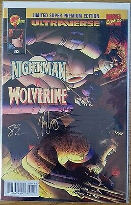 Nightman Vs. Wolverine (1995) Sign Dynamic Forces